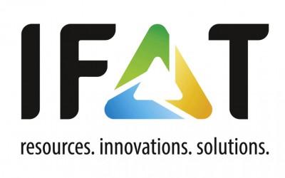 Besuchen Sie uns auf der IFAT vom 14. bis 18. Mai 2018 in München