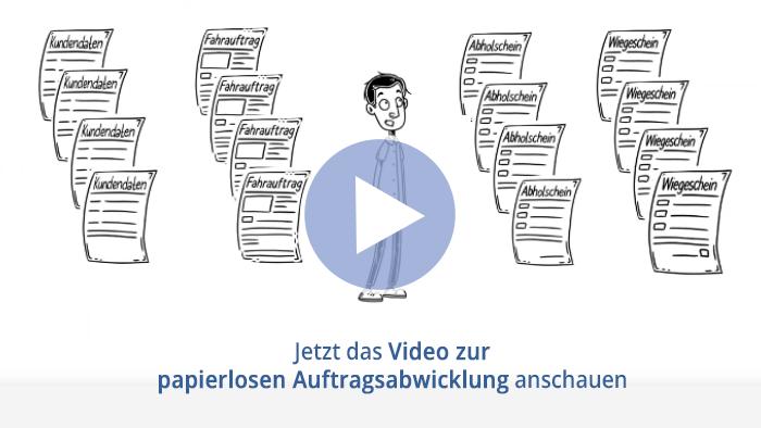 Erklär-Video zur papierlosen Auftragsabwicklung in der Abfallwirtschaft