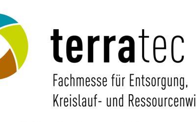 """Besuchen Sie uns auf der """"Terratec"""" vom 5.-7.4.2017 in Leipzig"""