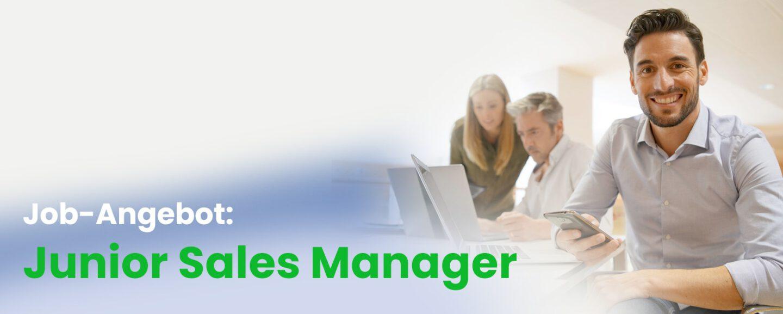 Job-Angebot: Junior Sales Manager