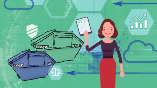 JANA: Cloud-Lösung für die Abfallwirtschaft