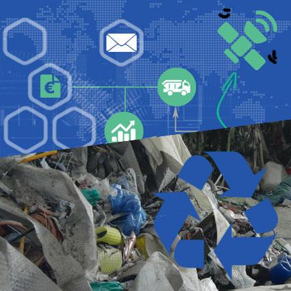 Digitalisierung für Recycling und Wertstoffaufbereitung