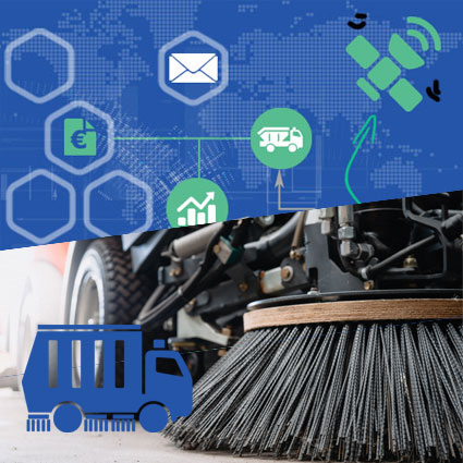 Software für Straßenreinigung und Kanalreinigung