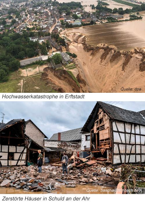 Flutkatastrophe Erftstadt und Ahr